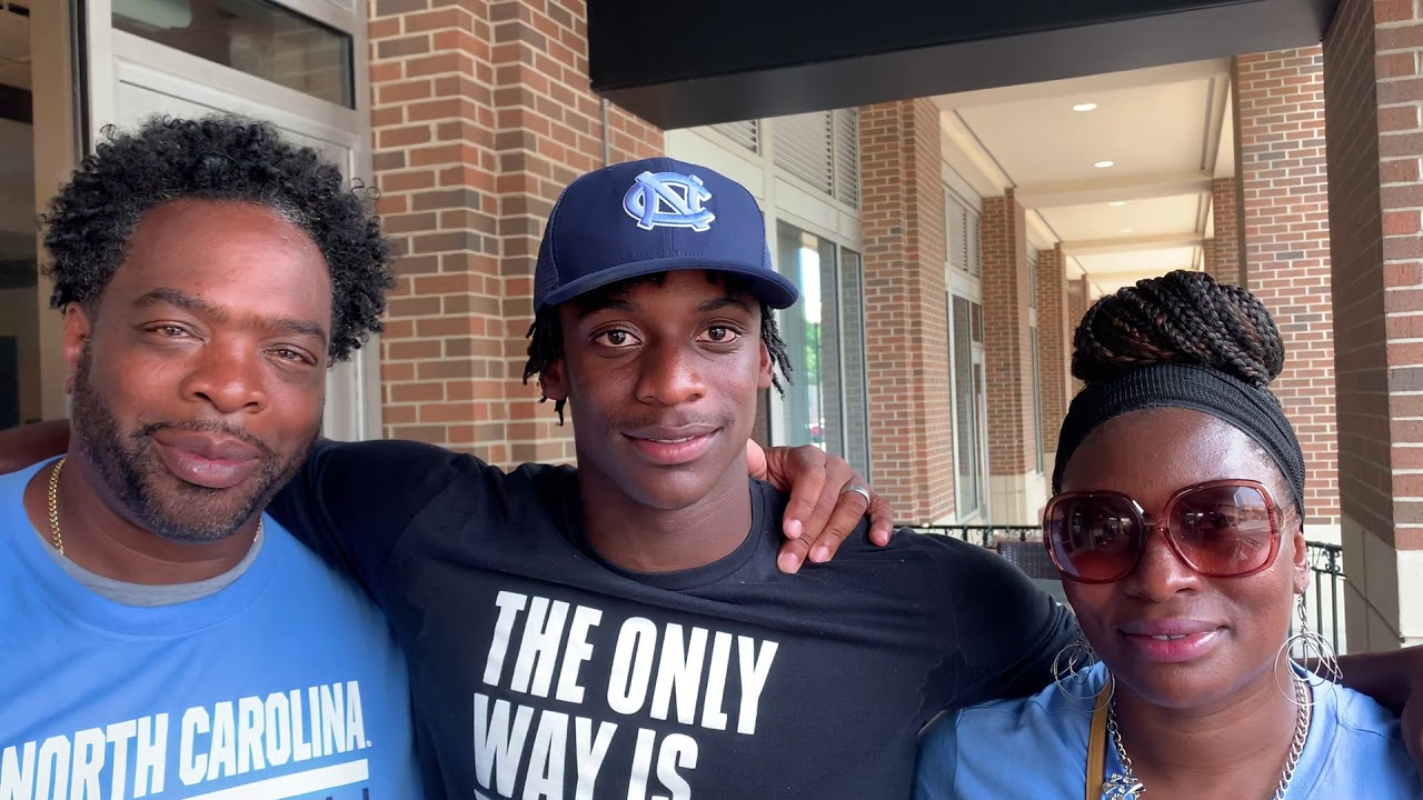 THI TV: Tony Grimes & His Parents Talk UNC