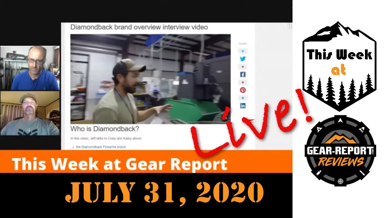This Week at Gear Report LIVE! - 31jul20