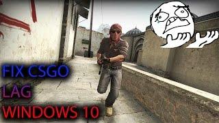 How To Fix CSGO Lag Windows 10