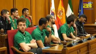 El Unicaja Almería Voley brinda a los 103 municipios su undécima 'Copa del Rey'