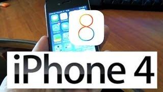 iOS 8 . Будет работать или нет iOS 8 на iPhone 4 ?