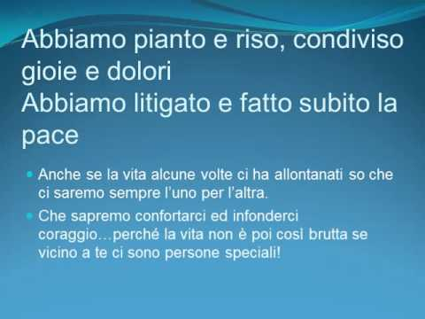Bien connu AD UN FRATELLO SPECIALE - YouTube WK49