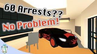 Roblox Jailbreak - 60 Arrests?? No Problem!