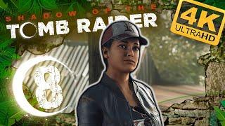 SHADOW OF THE TOMB RAIDER 🌙 #8: Endlich Zivilisation! Ankunft im kleinen Dorf Kuwaq Yaku