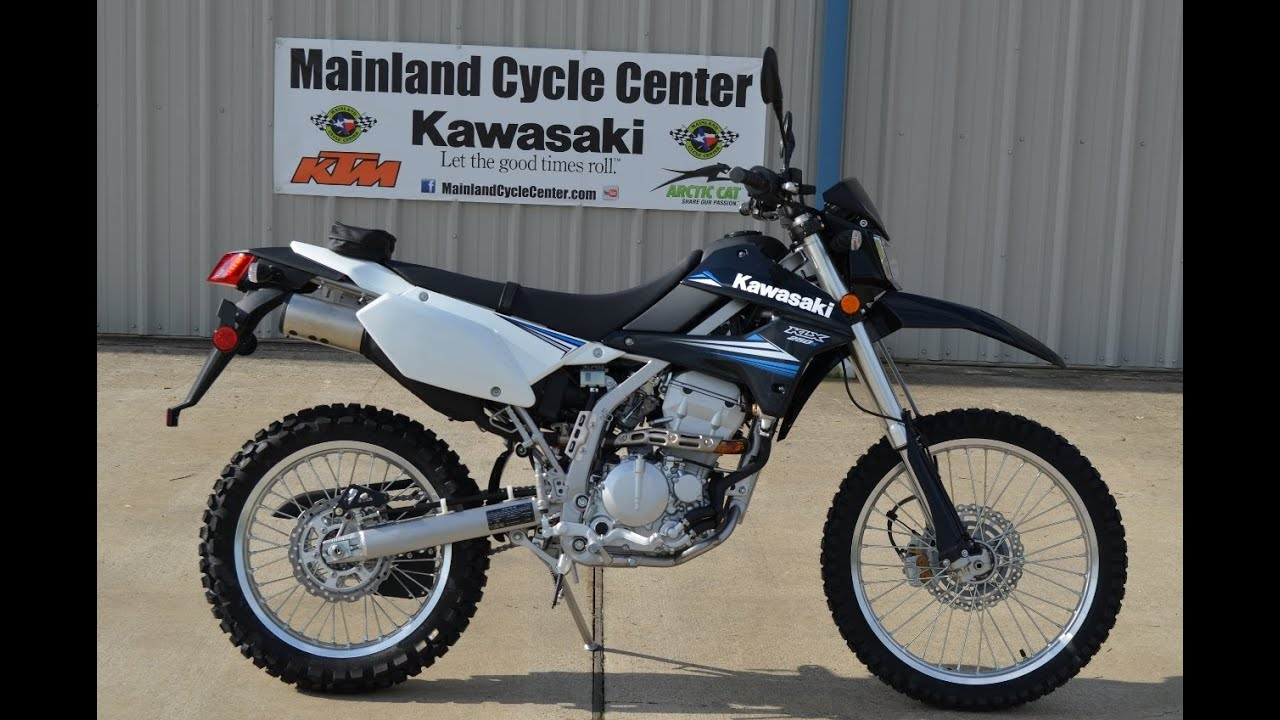 $5,099: 2014 Kawasaki KLX250S Dual Purpose Motorcycle - YouTube