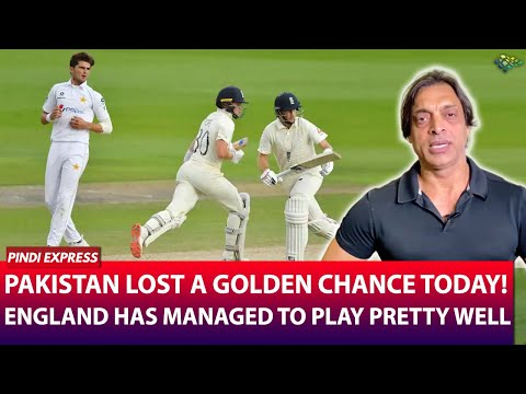 Pakistan vs England | 1st Test Match | Pakistan Lost due to Lack of Aggression | Shoaib Akhtar