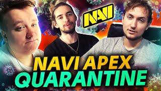 Как NAVI Apex Проводят Карантин?