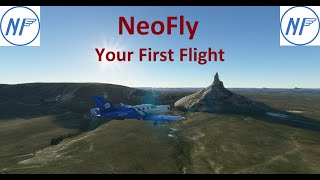 NeoFly Tutorial - How to get started with your first flight in NeoFly, a career app for MSFS 2020.
