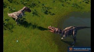 Сражения динозавров - Jurassic World Evolution 03