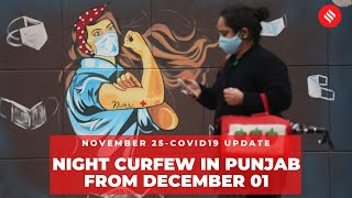 Coronavirus on Nov 25, Punjab orders night curfew in all towns and cities from Dec 1