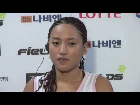 Su Jeong Lim - Post-Fight Interview - Sep.24.2009