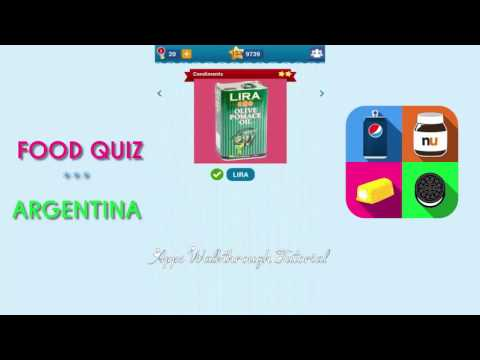 Food Quiz Argentina Pack 7 - All Answers - Walkthrough