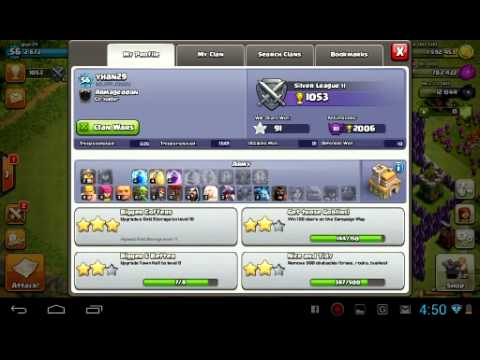clash of clans account for sale th7 max youtube. Black Bedroom Furniture Sets. Home Design Ideas