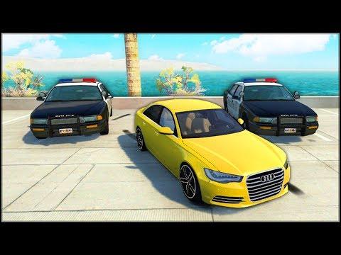 Urmarit de Politie! | BeamNG.Drive