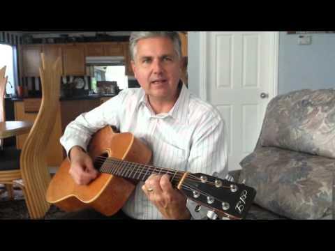 Brian McClendon first guitar lesson