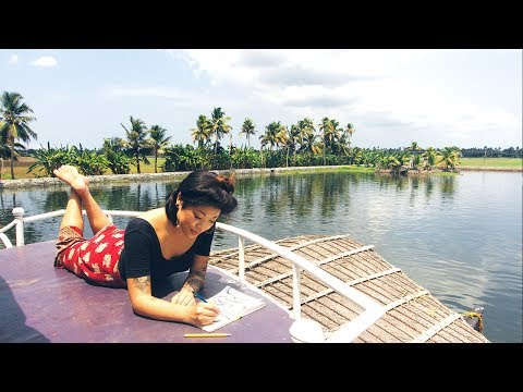 HAPPY IN ALLEPPEY! Cruise through Kerala, God's Own Country