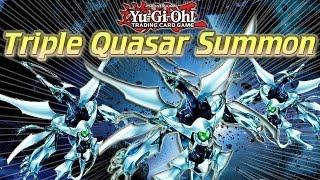 Yugioh Triple Quasar Summon Combo