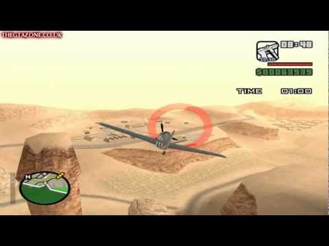 GTA San Andreas - Mission #68 - Learning To Fly [All Gold] (HD)