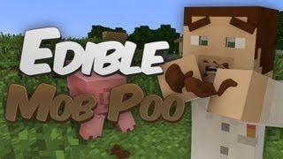 Frolicking in Mob Poop in Minecraft - Mob Poos Mod Showcase
