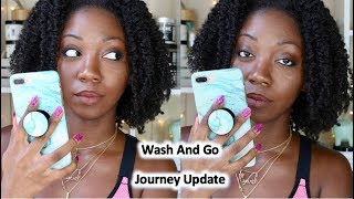 vuclip WASH AND GO JOURNEY UPDATE | HOW I FEEL NOW | TYPE 4 NATURAL HAIR