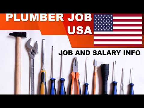 Plumber Salary In The United States - Jobs And Wages In The United States