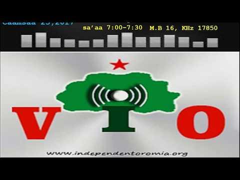 RSWO - Caamsaa 25, 2017 - Voice of Independent Oromia radio