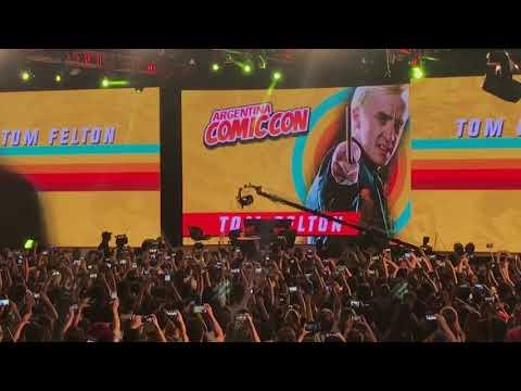 Tom Felton in Argentina Comic Con