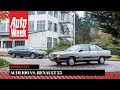 Audi 100 Vs. Renault 25   Classics Dubbeltest   English Subtitles