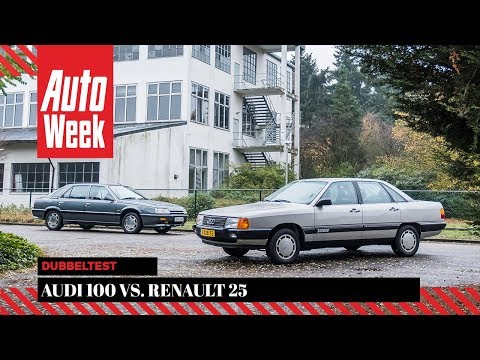 Фото к видео: Audi 100 vs. Renault 25 - Classics dubbeltest - English subtitles