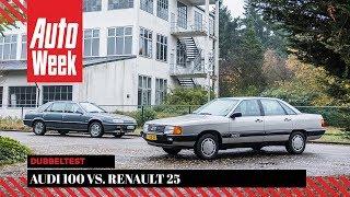 Audi 100 vs. Renault 25 - Classics dubbeltest - English subtitles