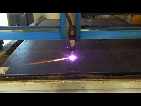 Steel Plate Plasma Cutting