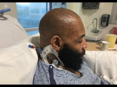 C.T. Fletcher In Hospital Waiting For Heart Transplant