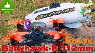 ✔Микро ракета EMAX Babyhawk-R 112mm - FPV Квадрокоптер! Banggood!