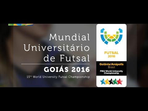 Opening Ceremony -15th World University Futsal Championship 2016 - Goiânia,  Brasil