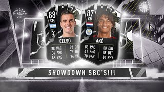 LO CELSO & AKE SHOWDOWN SBC! - FIFA 21 Ultimate Team