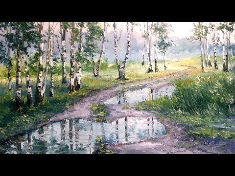 Стихотворение  ~ Август запечалился, загрустил дождями