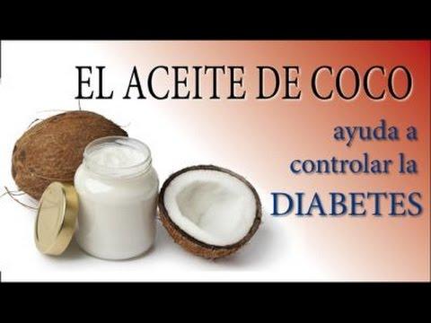 beneficios de la diabetes del aceite de coco orgánico