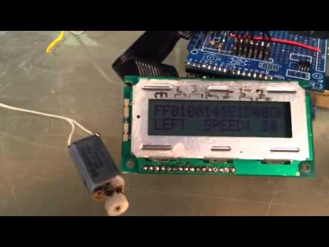 Arduino Pelco PTZ decoder Part 3 YouTube