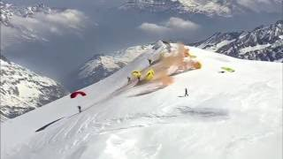 Speed Flying au Mont-Blanc - Apocalypse Snow Officiel