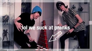 lol we suck at pranks || Our World Away