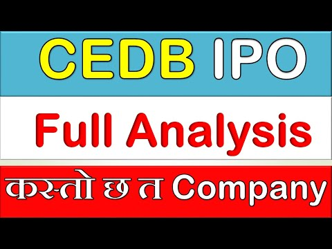 Detailed Analysis of IPO of CEDB Hydropower Development Company Limited