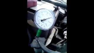 Замер давления масла 3S-FE часть 1 на холодную