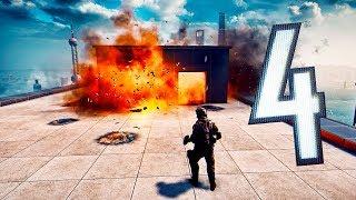 Battlefield 4 Random Moments #103 (Robot Wars, Leap Frog!?)