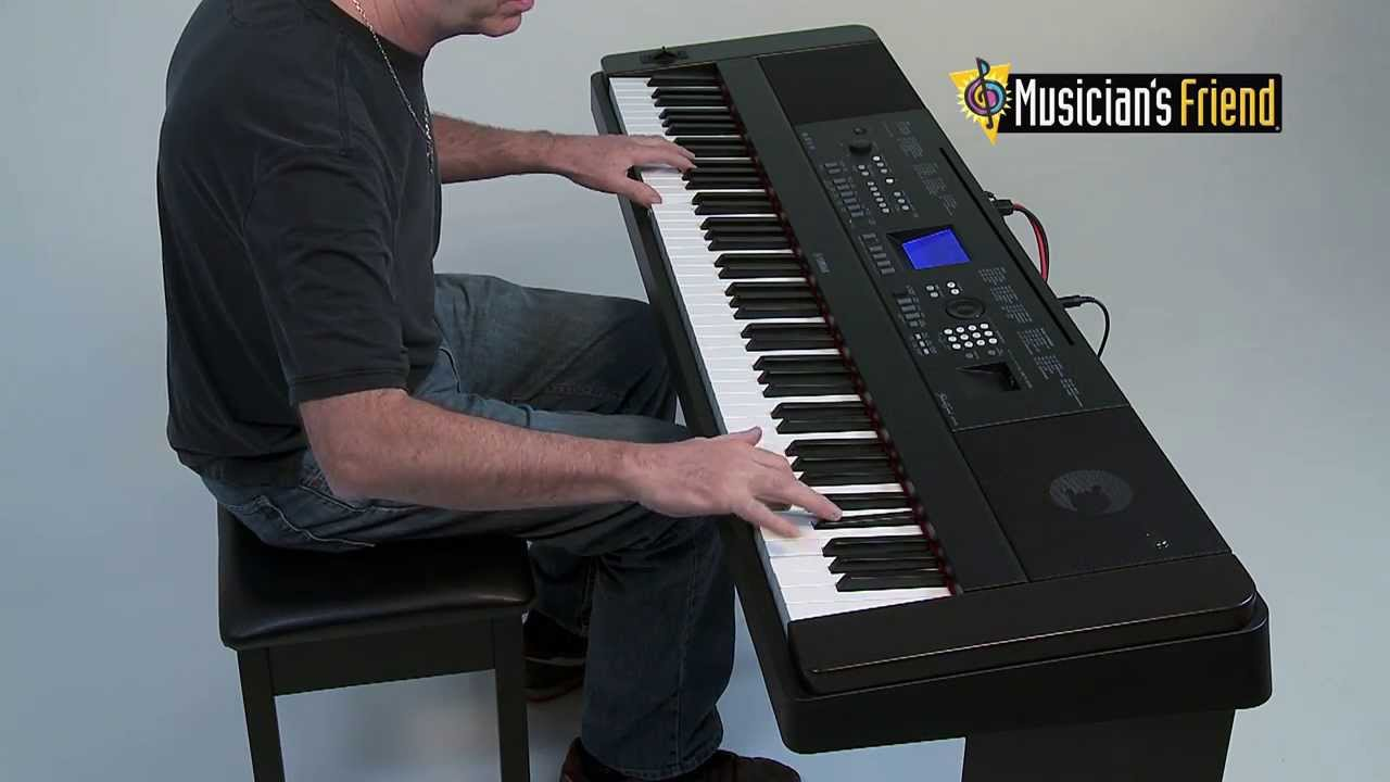yamaha dgx 650 digital piano youtube. Black Bedroom Furniture Sets. Home Design Ideas