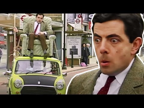 Driving On The ROOF! | Funny Clips | Mr Bean Official