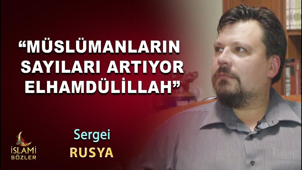 """Müslüman Olan Sergei Anlatıyor """"Müslümanların sayıları artıyor Elhamdülillah""""     Rusya"""