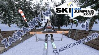 Zagrajmy w RTL ski jumping 2007 #1 - Na trudnym a co