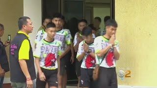 Thai Soccer Team Describes Ordeal