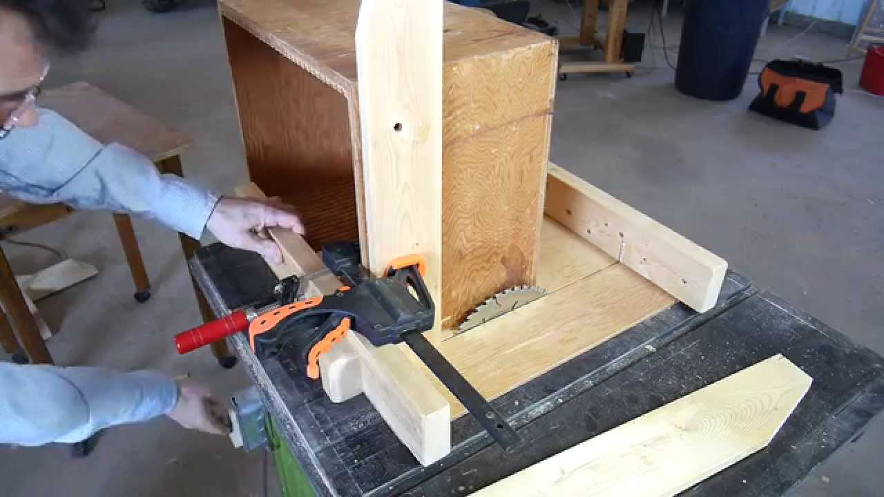 Mortise And Tenon Table Saw Jig