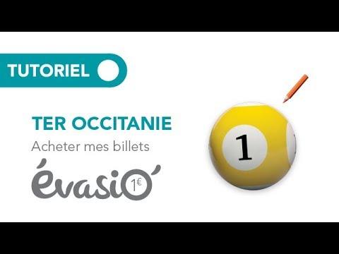 Site TER Occitanie : Acheter Mes Billets EvasiO' 1€